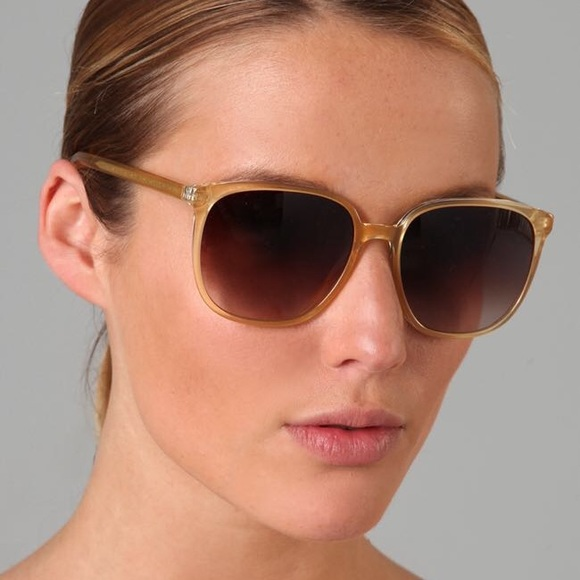 Oliver Peoples Woman D-frame Acetate And Gold-tone Sunglasses Gold Size Oliver Peoples Ypys8eq2dv